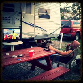 Twin Rivers RV Park, Hobe Sound, Florida, May 2013