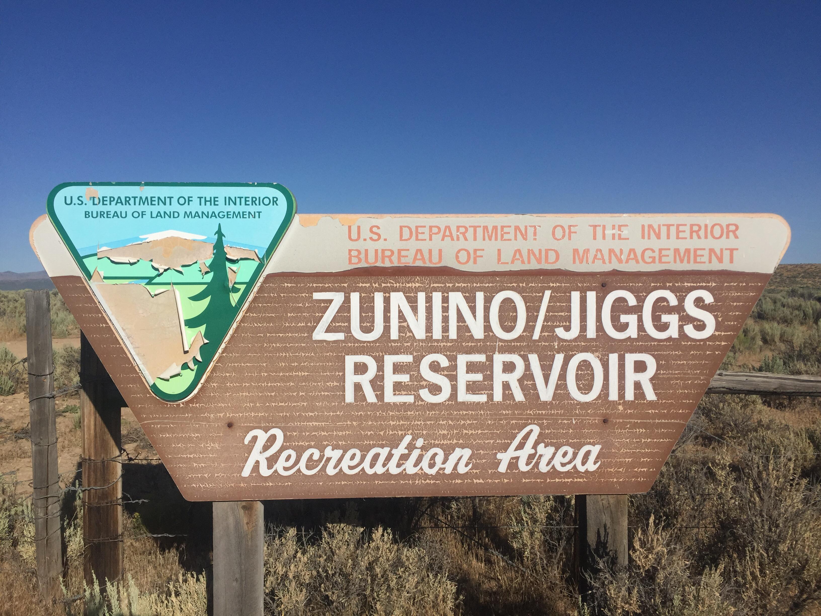 Zunino Jiggs Reservoir BLM – Elko